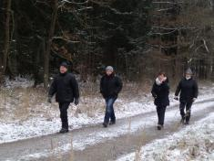 Vánoční procházka po okolí obce