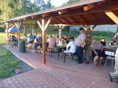 Pouťové oslavy s večerní zábavou na hřišti